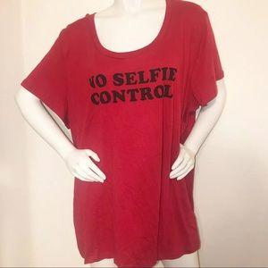 Torrid Red Graphic Selfie T-Shirt 4
